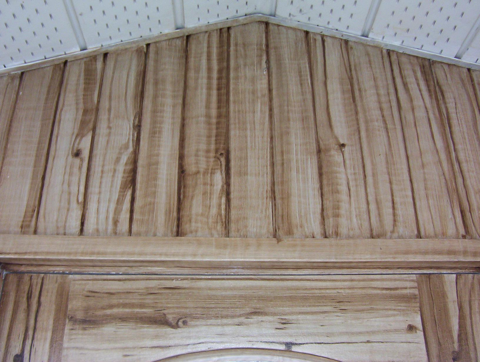 faux bois olivier sur t le d tail beaulieu d cor. Black Bedroom Furniture Sets. Home Design Ideas